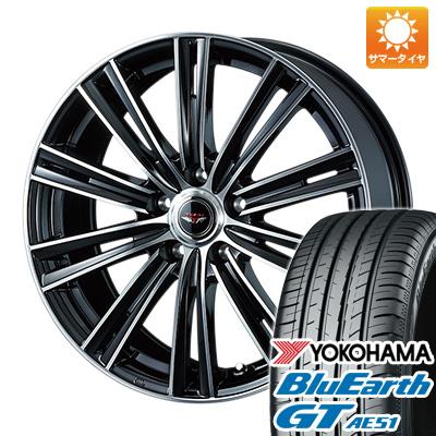 今がお得! 送料無料 205/65R16 16インチ サマータイヤ ホイール4本セット WEDS ウェッズ テッドスナップ 6.5J 6.50-16 YOKOHAMA ブルーアース GT AE51