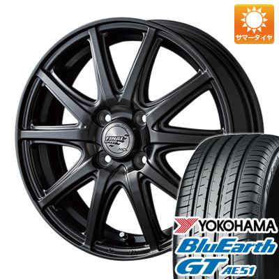 今がお得! 送料無料 165/55R15 15インチ サマータイヤ ホイール4本セット MID ファイナルスピード GR-ガンマ 4.5J 4.50-15 YOKOHAMA ブルーアース GT AE51