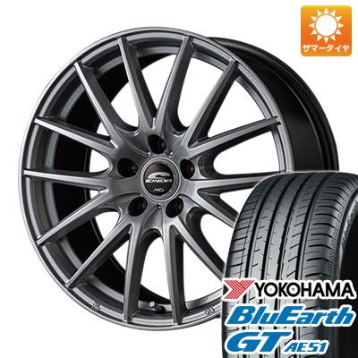 今がお得! 送料無料 195/50R16 16インチ サマータイヤ ホイール4本セット MID シュナイダー SQ27 6.5J 6.50-16 YOKOHAMA ブルーアース GT AE51