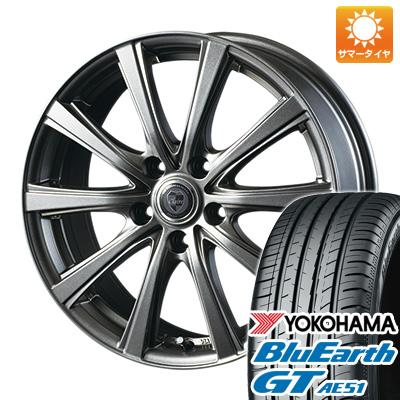 今がお得! 送料無料 215/65R16 16インチ サマータイヤ ホイール4本セット INTER MILANO インターミラノ クレール DG10 6.5J 6.50-16 YOKOHAMA ブルーアース GT AE51