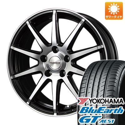今がお得! 送料無料 215/45R17 17インチ サマータイヤ ホイール4本セット MID ロードライン101S限定 7J 7.00-17 YOKOHAMA ブルーアース GT AE51