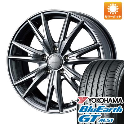 【送料無料】 215/50R17 17インチ WEDS ウェッズ ヴェルバ ケヴィン 7J 7.00-17 YOKOHAMA ヨコハマ ブルーアース GT AE51 サマータイヤ ホイール4本セット
