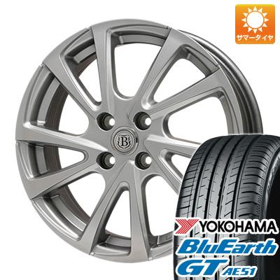 【送料無料】 205/60R16 16インチ BRANDLE ブランドル E04 6.5J 6.50-16 YOKOHAMA ヨコハマ ブルーアース GT AE51 サマータイヤ ホイール4本セット