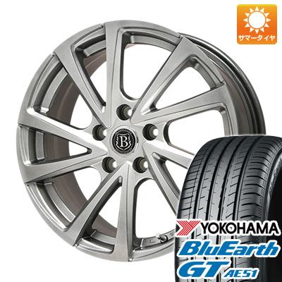 【送料無料】 205/60R16 16インチ BRANDLE ブランドル E04 6J 6.00-16 YOKOHAMA ヨコハマ ブルーアース GT AE51 サマータイヤ ホイール4本セット