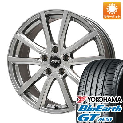 【送料無料】 205/60R16 16インチ BRANDLE ブランドル N52 6.5J 6.50-16 YOKOHAMA ヨコハマ ブルーアース GT AE51 サマータイヤ ホイール4本セット
