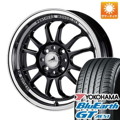 今がお得! 送料無料 165/55R15 15インチ サマータイヤ ホイール4本セット 5ZIGEN ゴジゲン パンテーラ バージョンM6 5J 5.00-15 YOKOHAMA ブルーアース GT AE51