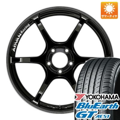 今がお得! 送料無料 225/40R19 19インチ サマータイヤ ホイール4本セット YOKOHAMA ヨコハマ アドバンレーシング RGIII 8.5J 8.50-19 YOKOHAMA ブルーアース GT AE51