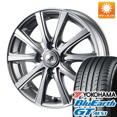 今がお得! 送料無料 195/45R16 16インチ サマータイヤ ホイール4本セット INTER MILANO インターミラノ AZ-SPORTS YL-10 6J 6.00-16 YOKOHAMA ブルーアース GT AE51