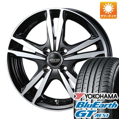 今がお得! 送料無料 155/65R14 14インチ サマータイヤ ホイール4本セット BLEST ブレスト バーンズテック ジゼリスFVP 4.5J 4.50-14 YOKOHAMA ブルーアース GT AE51