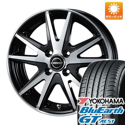 今がお得! 送料無料 185/60R15 15インチ サマータイヤ ホイール4本セット BLEST ブレスト ユーロマジック ランスSTP 5.5J 5.50-15 YOKOHAMA ブルーアース GT AE51