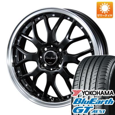 今がお得! 送料無料 175/65R15 15インチ サマータイヤ ホイール4本セット BLEST ブレスト ユーロスポーツ タイプ815 5.5J 5.50-15 YOKOHAMA ブルーアース GT AE51
