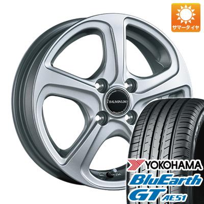今がお得! 送料無料 155/65R14 14インチ サマータイヤ ホイール4本セット BRIDGESTONE ブリヂストン バルミナ ZR5 4.5J 4.50-14 YOKOHAMA ブルーアース GT AE51