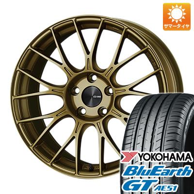今がお得! 送料無料 185/55R16 16インチ サマータイヤ ホイール4本セット ENKEI エンケイ PFM1 6.5J 6.50-16 YOKOHAMA ブルーアース GT AE51