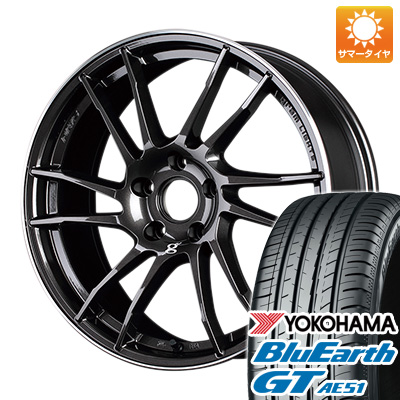 【送料無料】 205/55R17 17インチ RAYS レイズ グラムライツ 57XTC 7J 7.00-17 YOKOHAMA ヨコハマ ブルーアース GT AE51 サマータイヤ ホイール4本セット