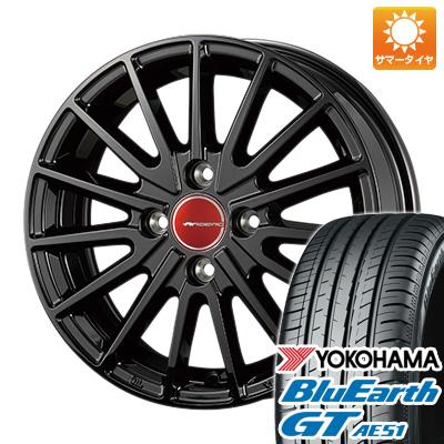 今がお得! 送料無料 165/55R15 15インチ サマータイヤ ホイール4本セット KOSEI コーセイ エアベルグ ゼノン 4.5J 4.50-15 YOKOHAMA ブルーアース GT AE51