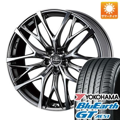 今がお得! 送料無料 245/35R19 19インチ サマータイヤ ホイール4本セット WEDS ウェッズ クレンツェ ウィーバル 100EVO 8J 8.00-19 YOKOHAMA ブルーアース GT AE51