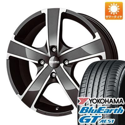 今がお得! 送料無料 195/50R16 16インチ サマータイヤ ホイール4本セット MOMO モモ ウィンプロEVO 6.5J 6.50-16 YOKOHAMA ブルーアース GT AE51