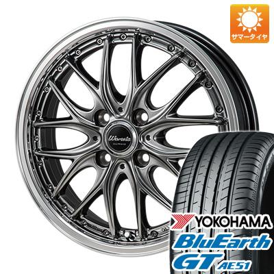 今がお得! 送料無料 185/55R16 16インチ サマータイヤ ホイール4本セット MONZA モンツァ ワーウィック ディープランド 6J 6.00-16 YOKOHAMA ブルーアース GT AE51