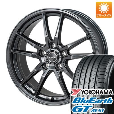 【送料無料】 205/60R16 16インチ MONZA モンツァ ZACK JP-520 6.5J 6.50-16 YOKOHAMA ヨコハマ ブルーアース GT AE51 サマータイヤ ホイール4本セット