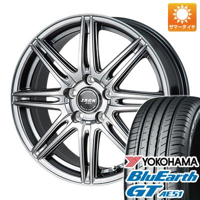 【送料無料】 215/50R17 17インチ MONZA モンツァ ZACK JP-818 7J 7.00-17 YOKOHAMA ヨコハマ ブルーアース GT AE51 サマータイヤ ホイール4本セット