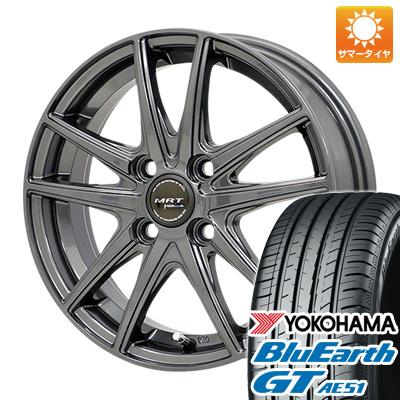 今がお得! 送料無料 175/65R14 14インチ サマータイヤ ホイール4本セット MORITA モリタ MRT Z-05 5.5J 5.50-14 YOKOHAMA ブルーアース GT AE51