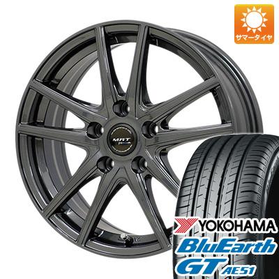 今がお得! 送料無料 215/45R17 17インチ サマータイヤ ホイール4本セット MORITA モリタ MRT Z-05 7J 7.00-17 YOKOHAMA ブルーアース GT AE51