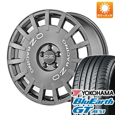 今がお得! 送料無料 245/35R19 19インチ サマータイヤ ホイール4本セット OZ ラリーレーシング 8.5J 8.50-19 YOKOHAMA ブルーアース GT AE51