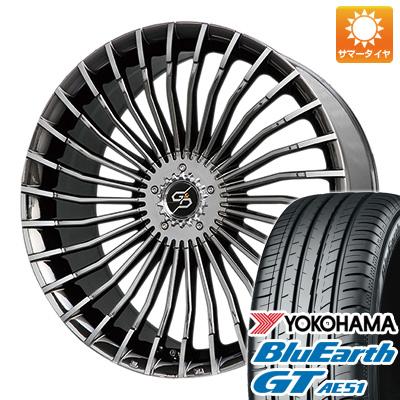 今がお得! 送料無料 225/50R17 17インチ サマータイヤ ホイール4本セット PREMIX プレミックス グラッパ f30 (BMCポリッシュ) 7J 7.00-17 YOKOHAMA ブルーアース GT AE51