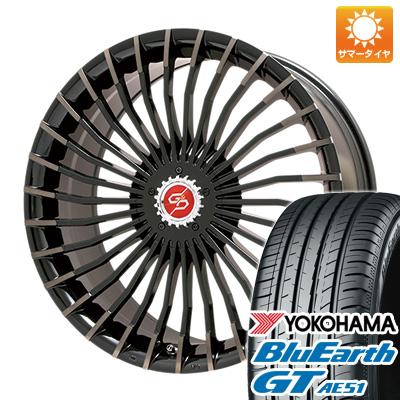 【送料無料】 235/40R18 18インチ PREMIX プレミックス グラッパ f30 (ブロンズクリア) 8J 8.00-18 YOKOHAMA ヨコハマ ブルーアース GT AE51 サマータイヤ ホイール4本セット