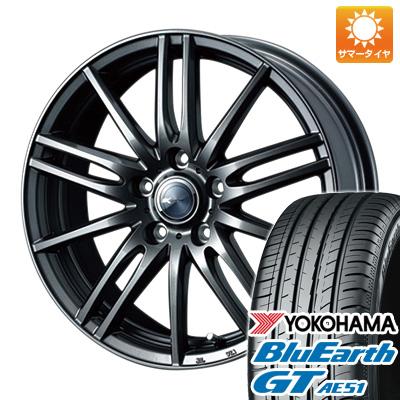 今がお得! 送料無料 205/65R16 16インチ サマータイヤ ホイール4本セット WEDS ウェッズ ザミック ティート 6.5J 6.50-16 YOKOHAMA ブルーアース GT AE51