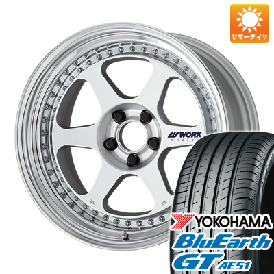 今がお得! 送料無料 235/35R19 19インチ サマータイヤ ホイール4本セット WORK ワーク マイスター L1 3P 8.5J 8.50-19 YOKOHAMA ブルーアース GT AE51