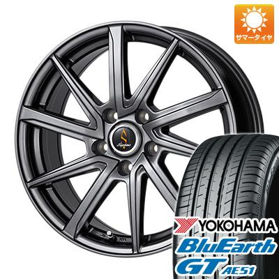 今がお得! 送料無料 205/65R16 16インチ サマータイヤ ホイール4本セット WORK ワーク セプティモ G01 ダークグレー 6.5J 6.50-16 YOKOHAMA ブルーアース GT AE51