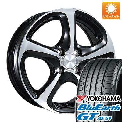 今がお得! 送料無料 185/55R15 15インチ サマータイヤ ホイール4本セット BRIDGESTONE ブリヂストン バルミナ Z5 5.5J 5.50-15 YOKOHAMA ブルーアース GT AE51