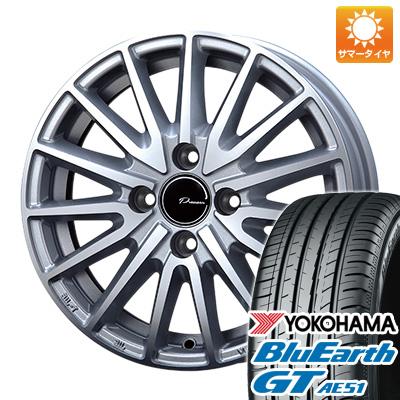 今がお得! 送料無料 185/60R15 15インチ サマータイヤ ホイール4本セット KOSEI コーセイ プラウザー アシュラ 5.5J 5.50-15 YOKOHAMA ブルーアース GT AE51