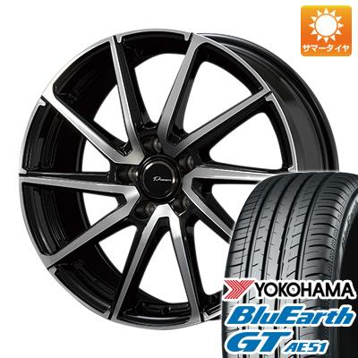 今がお得! 送料無料 215/60R16 16インチ サマータイヤ ホイール4本セット KOSEI コーセイ プラウザー レグラス 6.5J 6.50-16 YOKOHAMA ブルーアース GT AE51