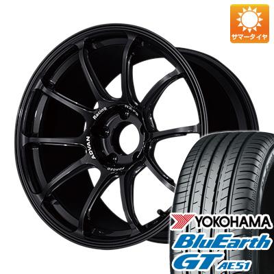今がお得! 送料無料 225/50R18 18インチ サマータイヤ ホイール4本セット YOKOHAMA アドバンレーシング RZーF2 7.5J 7.50-18 YOKOHAMA ブルーアース GT AE51