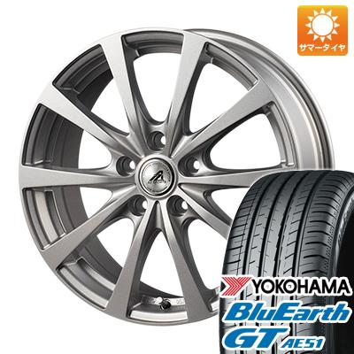 今がお得! 送料無料 205/55R16 16インチ サマータイヤ ホイール4本セット INTER MILANO インターミラノ AZ-SPORTS EX-10 6.5J 6.50-16 YOKOHAMA ブルーアース GT AE51