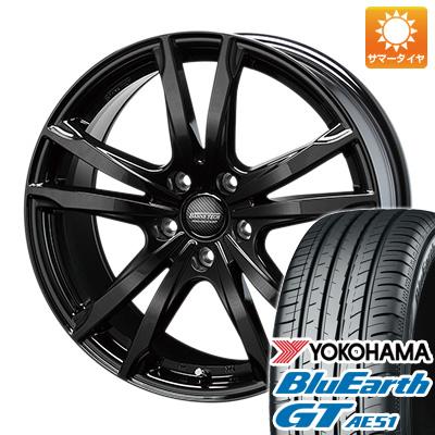 今がお得! 送料無料 195/55R16 16インチ サマータイヤ ホイール4本セット BLEST ブレスト バーンズテック ジゼリスFV 6.5J 6.50-16 YOKOHAMA ブルーアース GT AE51