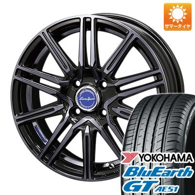 今がお得! 送料無料 165/55R15 15インチ サマータイヤ ホイール4本セット BLEST ブレスト ユーロスポーツ レグルス A1 5J 5.00-15 YOKOHAMA ブルーアース GT AE51