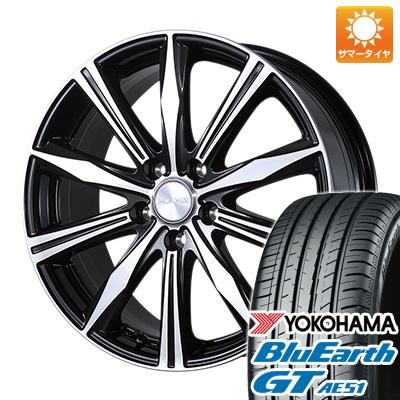 【送料無料】 215/45R18 18インチ BRIDGESTONE ブリヂストン バルミナ K10 7.5J 7.50-18 YOKOHAMA ヨコハマ ブルーアース GT AE51 サマータイヤ ホイール4本セット