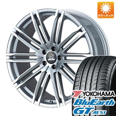 今がお得! 送料無料 225/45R19 19インチ サマータイヤ ホイール4本セット CLIMATE SUW エクスカリバー限定 8J 8.00-19 YOKOHAMA ブルーアース GT AE51