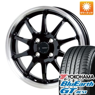 今がお得! 送料無料 185/55R16 16インチ サマータイヤ ホイール4本セット HOT STUFF ホットスタッフ ジースピード P-04 6J 6.00-16 YOKOHAMA ブルーアース GT AE51