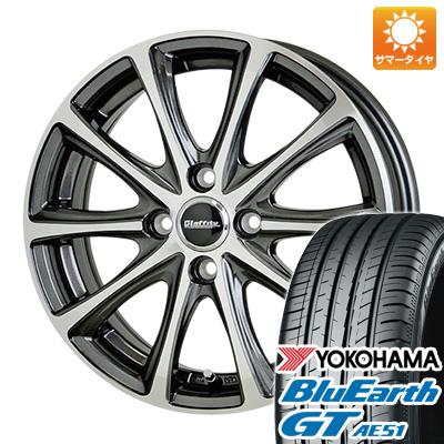 今がお得! 送料無料 165/55R15 15インチ サマータイヤ ホイール4本セット HOT STUFF ホットスタッフ ラフィット LE-04 4.5J 4.50-15 YOKOHAMA ブルーアース GT AE51