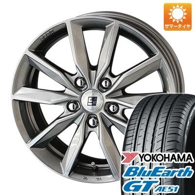 今がお得! 送料無料 215/65R16 16インチ サマータイヤ ホイール4本セット KYOHO 共豊 キョウホウ ザインSV 6.5J 6.50-16 YOKOHAMA ブルーアース GT AE51