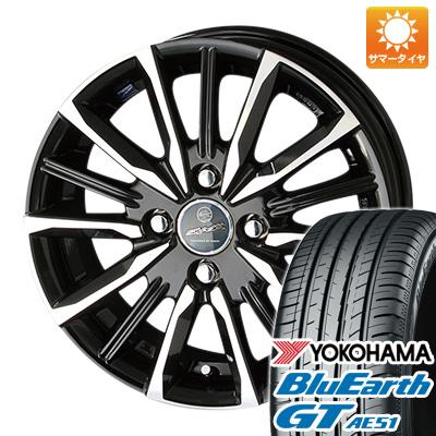 今がお得! 送料無料 185/55R15 15インチ サマータイヤ ホイール4本セット KYOHO 共豊 スマック プライム ヴァルキリー 5.5J 5.50-15 YOKOHAMA ブルーアース GT AE51