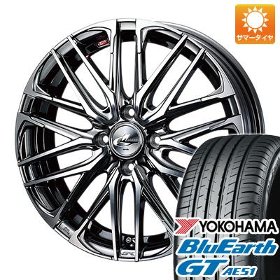 今がお得! 送料無料 195/50R16 16インチ サマータイヤ ホイール4本セット WEDS ウェッズ レオニス SK 6J 6.00-16 YOKOHAMA ブルーアース GT AE51