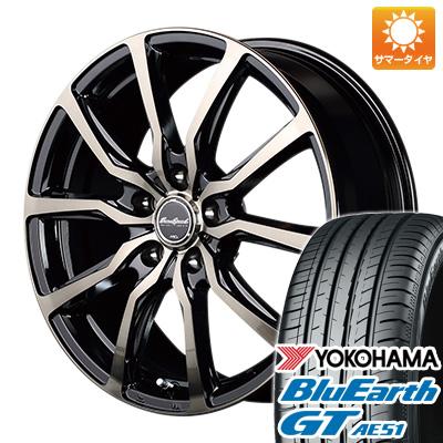 今がお得! 送料無料 155/65R14 14インチ サマータイヤ ホイール4本セット MID ユーロスピード D.C.52 4.5J 4.50-14 YOKOHAMA ブルーアース GT AE51