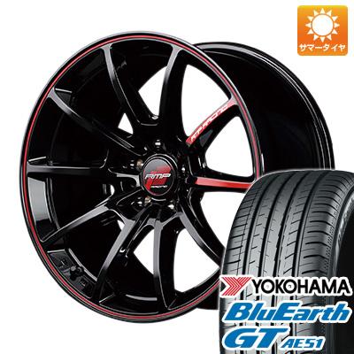 今がお得! 送料無料 185/55R16 16インチ サマータイヤ ホイール4本セット MID RMP レーシング R25 6J 6.00-16 YOKOHAMA ブルーアース GT AE51
