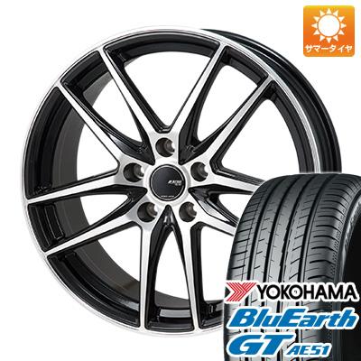 【送料無料】 205/60R16 16インチ MONZA モンツァ JPスタイル グリッド 6.5J 6.50-16 YOKOHAMA ヨコハマ ブルーアース GT AE51 サマータイヤ ホイール4本セット