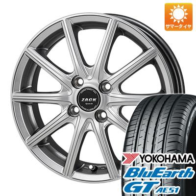 今がお得! 送料無料 175/65R15 15インチ サマータイヤ ホイール4本セット MONZA モンツァ ZACK シュポルト01 5.5J 5.50-15 YOKOHAMA ブルーアース GT AE51